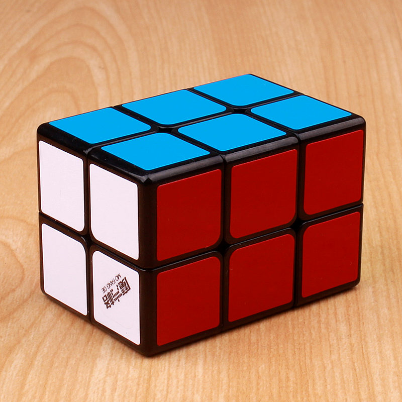 Qiyi mofangge 2x2x3 magic speed cube stickers professional puzzle cubes educational toys for children qiyi mofangge valk3 power m magnetic 3x3x3 speed magic cube for wca professional toys for children valk 3 puzzle cube