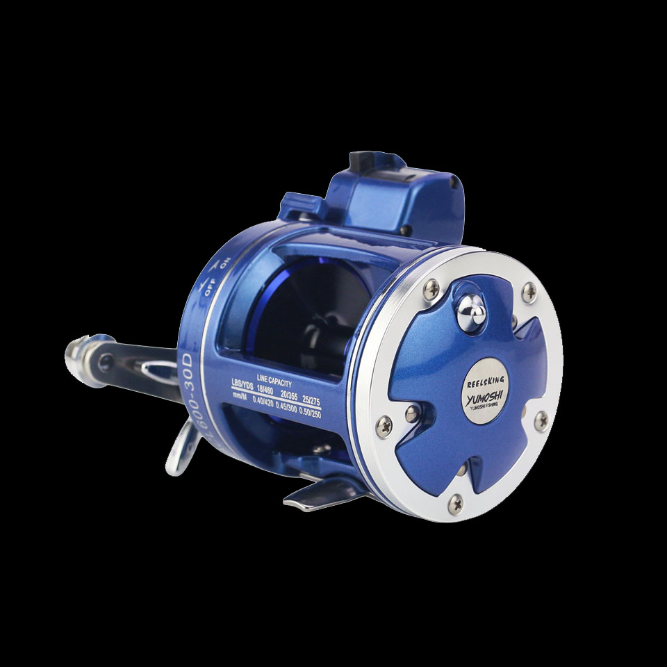 WALK FISH High quality Bait Casting Fishing Reel with counter 12BB High strength body cast drum