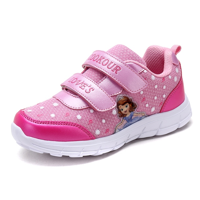 0e76a9516f8 2018 Spring New Cheap Kids Sneakers Girls Children Outdoor Breathable Sport  Shoes Trainers Athletic Jogging Shoes Size 28-37