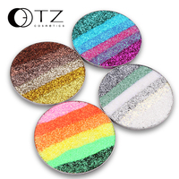 In 3 Color Huge Pie Pressed Glitters Eyeshadow Glitterinjections Make Up Glitter Eye Shadows Fill In