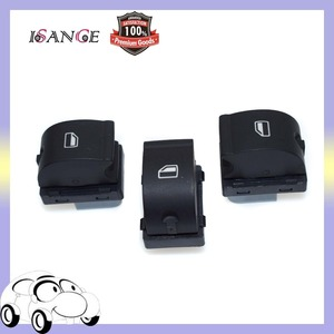 ISANCE 3 pieces SET Master Electric Power Master Window Switch Front Rear Right 8ED959855 8ED 959 855 Fit For AUDI A4 B6