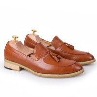 men official tassel loafers footwear 2016 men's high quality male moccasins luxury brand ballet flats dress oxford shoes for men