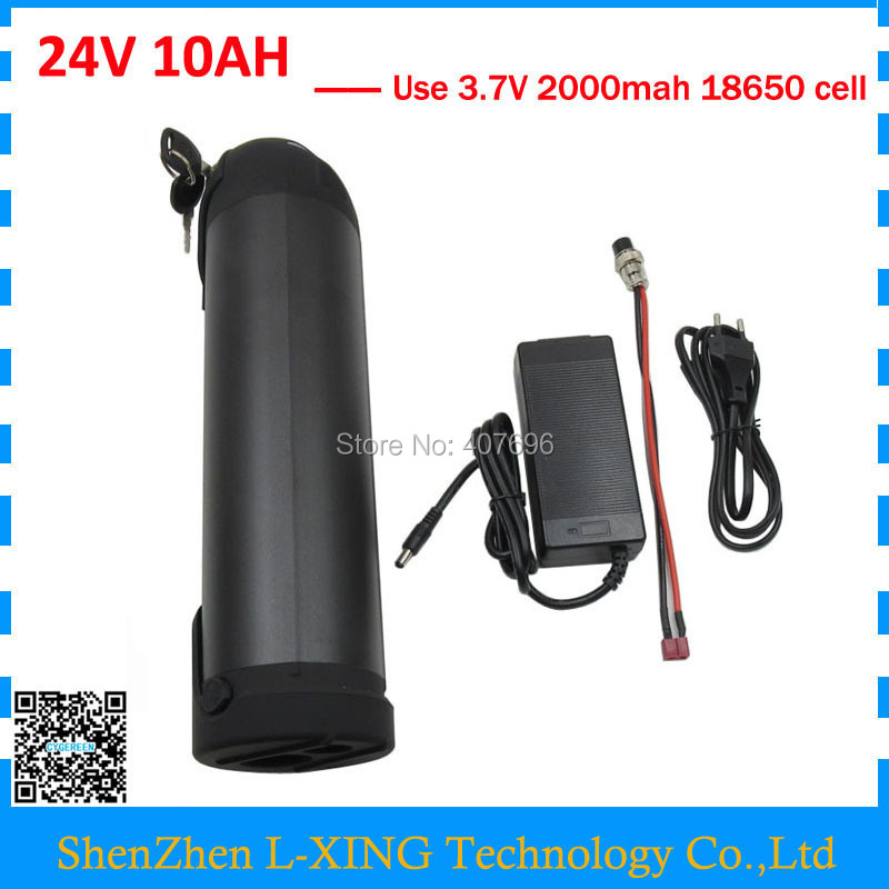 24 v 10ah lithium battery 24V 10AH water bottle battery 24V Ebike battery with 15A BMS 2A Charger Free customs fee ebike battery 48v 15ah lithium ion battery pack 48v for samsung 30b cells built in 15a bms with 2a charger free shipping duty