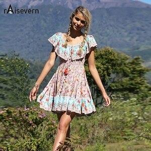 Raisevern Women Sundress Flora