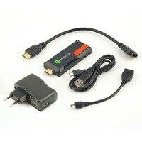 1 stück MK809IV Smart TV 2 GB 8 GB Android TV Box Drahtlose HDMI Dongle für Android Mini PC Quad Core RK3188T WIFI TV Stick