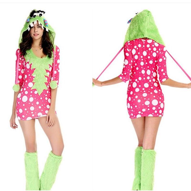 Kigurumi Woman Melody Monster Animal Cosplay Show Disfraces Halloween Costume adult Female pajamas Holiday Festival parade dress