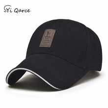 SYi Qarce Solid Spring Winter Autumn Adjustable Cotton Baseball Cap for Men's Women Outdoor Leisure Sun Snapback Hat NM027-34