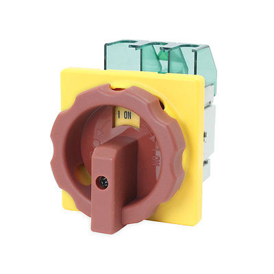 AC 600V 50Hz 25A ON/OFF 2 Positions Locking Cam Combination Changeover Switch GLD2-25A 660v 25a on off on 3 phase 12 terminal rotary cam changeover combination switch