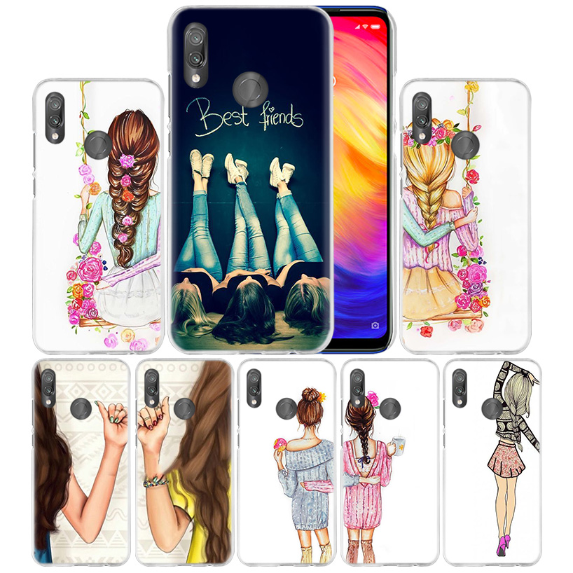 Together Best friends Case for Xiaomi Redmi Go Note 7 6 6A Pro S2 5 5A 4X Mi A1 A2 9 Mix 3 5G 8 lite Play F1 Hard PC Phone Cover