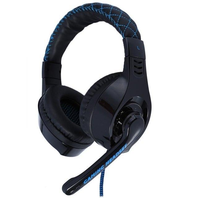 Original somic g95 usb gaming fones de ouvido fones de ouvido fones de ouvido com microfone estéreo baixo azul luz led para jogos de pc com microfone