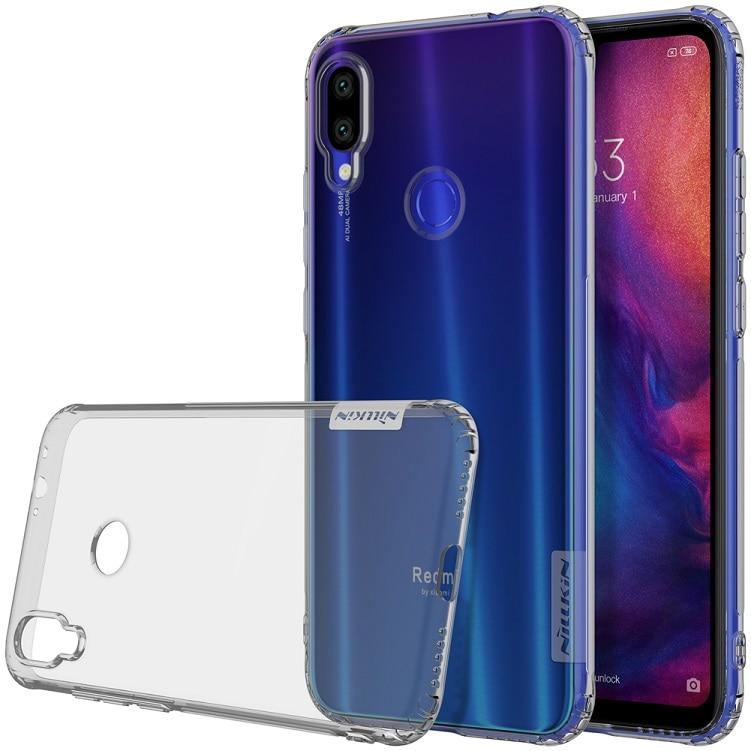 "For Xiaomi Redmi Note 7 Case Cover Nillkin Nature Transparent Clear Soft silicon TPU Protector cover Redmi Note 7 Pro Case 6.3"""