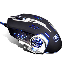 Technology XM-M362 Wired 4 Colors LED Backlit USB Ergonomic Optical Gaming Mouse Gamer Mice 3200DPI For PC Laptop Computer New