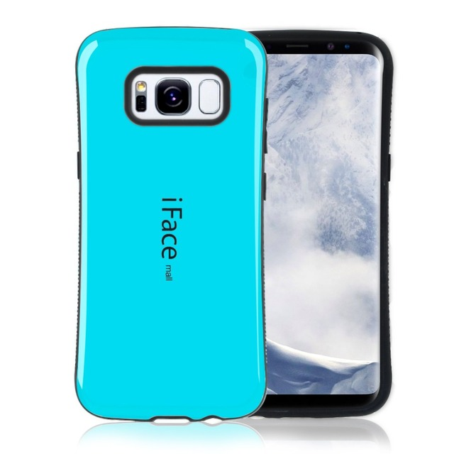 on sale 6031b 1c612 US $4.99 |iFace Mall Case for Samsung Galaxy S8 / S8 Plus Shockproof TPU  Cover Protective Hard Back Cover Phone Cases-in Half-wrapped Case from ...