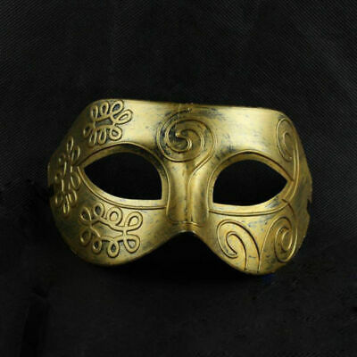 Women Men Party Face Mask Men Burnished Antique Silver/Gold Upper Half Face Venetian Mardi Gras Masquerade Party Ball Mask
