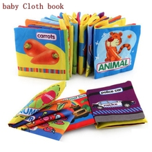 Купить с кэшбэком  Baby Toy Soft Cloth Books Baby Intelligence Development Infant Educational Stroller Rattle Toy Baby Toys For 0-36 Months