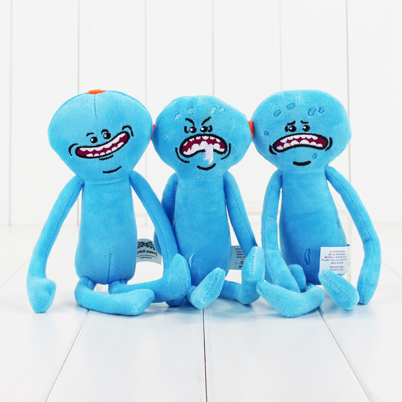 1pcs-Rick-and-Morty-Happy-Sad-Mr-Meeseeks-stuffed-plush-toy-free-shipping-5