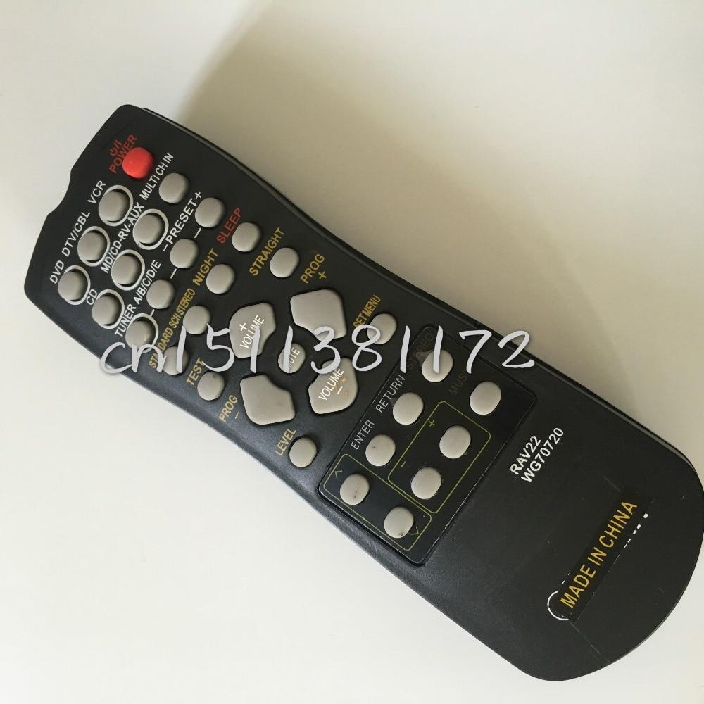 Бесплатная доставка! пульт дистанционного Управления RAV22 WG70720 Для YAMAHA Универсальный RX-V357 RX-V359 RX-V459 HTR5930
