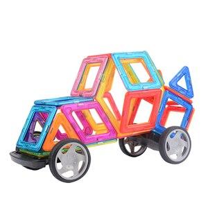 Image 3 - VINEDI grande taille blocs magnétiques magnétique concepteur constructeur ensemble modèle et construction jouet aimants jouets éducatifs pour les enfants