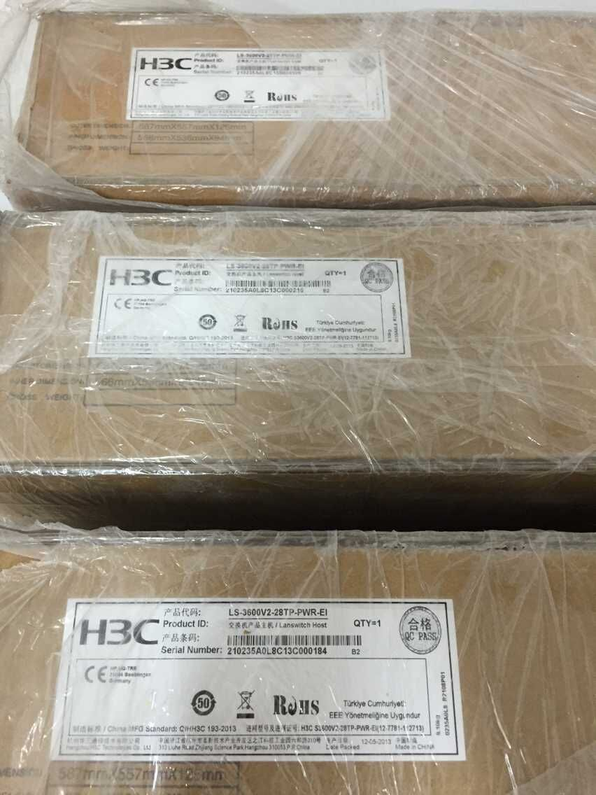 H3C S3600V2-28TP-PWR-EI (AC) 24 commutateurs POEH3C S3600V2-28TP-PWR-EI (AC) 24 commutateurs POE