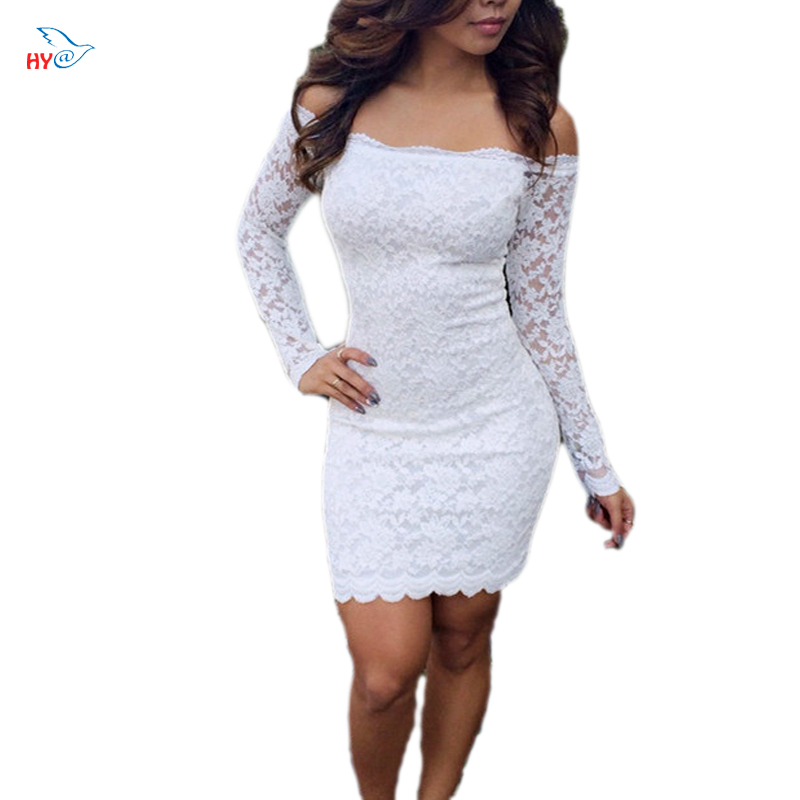 Hollow Out Lace Dresses Solid Casual Dresses For Women Ladies Elegant Vestido Beach backless Lace Sexy Summer Style Women Dress