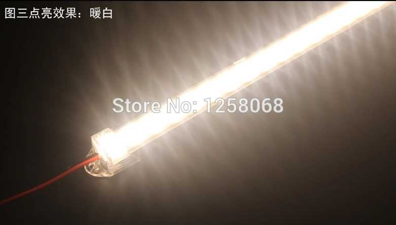 Fanlive 5630 36leds With Plastic Cover Led Strip Diffuser Hard Strip Light  Wedding Marquee 30pcs One Lot Wholesale CE&RoHS