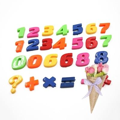 Magnetic Fridge Magnets Home Decor Numer Letter Sign Fridge Whiteboard Magnet Sticker Baby Educational Toy
