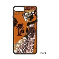 Love Africa Tropic Scorching Hot Black Women Lady Aboriginal Prairie Phone Case For IPhone X 7