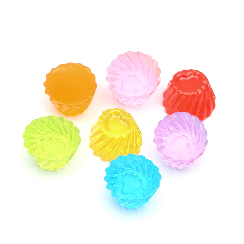 LF 20Pcs מעורב שרף סוכריות קישוט מלאכות Flatback קישוטי קבושון רעיונות Kawaii חמוד Diy אביזרים