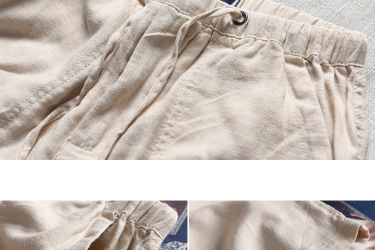HTB1oGcMh4TpK1RjSZFKq6y2wXXar Spring And Summer Men Fashion Brand Chinese Style Cotton Linen Loose Pants Male Casual Simple Thin White Straight Pants Trousers