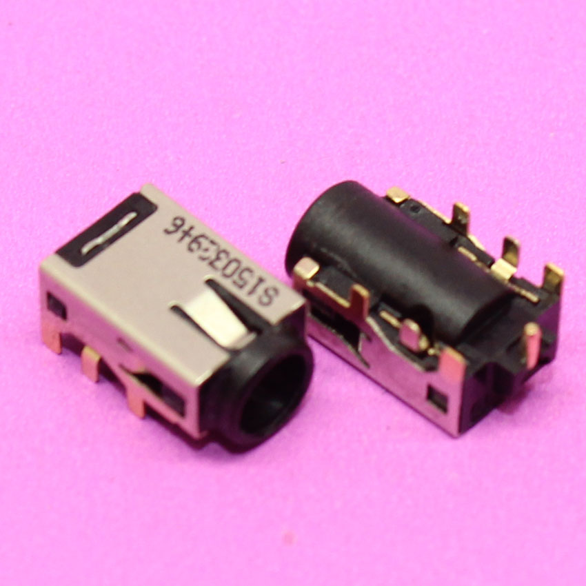 YuXi 100% NEW DC Power Jack Connector for <font><b>ASUS</b></font> X202E S200E S400CA <font><b>Q200E</b></font> <font><b>X201E</b></font> UX31 UX32 A V VD E DC jack image