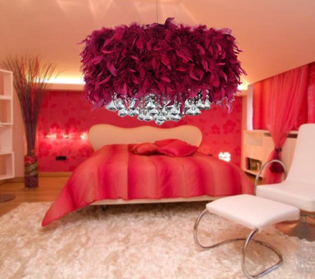 Moderne Luxuriöse Feder Led E27 Pendelleuchte 4 Farben Romantische Hochzeit  Decor Pendelleuchte Für Wohnzimmer Schlafzimmer 2079 In Moderne Luxuriöse  Feder ...