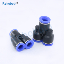 1PCS Pneumatic fitting connector Y type 3-way tee quick push in joint PY-6 PY-4 PY-8 PY-10 PY-12