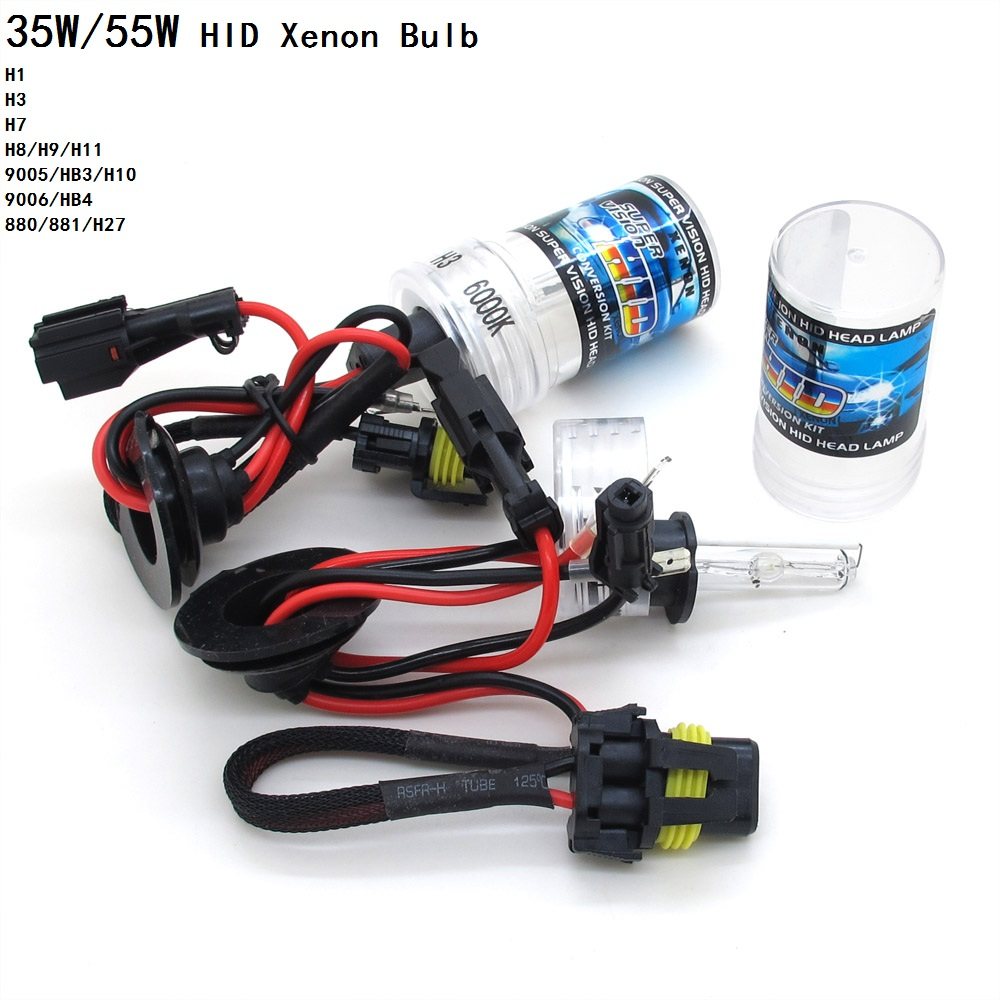 35w 55w hid xenon bulb 12v auto car headlight conversion. Black Bedroom Furniture Sets. Home Design Ideas