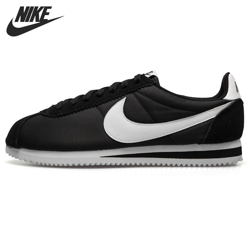 Original New Arrival 2018 NIKE CLASSIC CORTEZ NYLON Men's Running Shoes Sneakers original nike classic cortez nylon men s skateboarding shoes 532487 sneakers free shipping