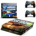 Ps4 la piel Rocket liga para Playstation 4 consola + 2 controladores de la piel tatuajes