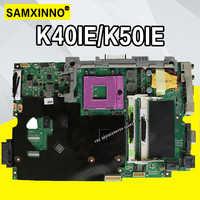 K50ID K40ID Motherboard 512M Für ASUS A41I K40I 50I K50IE X5DI K50ID K40ID K40IE laptop Motherboard K40IE K50IE Mainboard