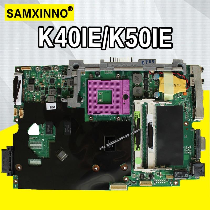 K50ID K40ID Motherboard 512M For ASUS A41I  K40I 50I K50IE X5DI K50ID K40ID K40IE  laptop Motherboard K40IE K50IE MainboardK50ID K40ID Motherboard 512M For ASUS A41I  K40I 50I K50IE X5DI K50ID K40ID K40IE  laptop Motherboard K40IE K50IE Mainboard