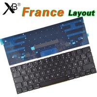 New A1707 Keyboard for Macbook Pro Retina 15''A1707 Keyboard French France FR AZERTY Backlight Backlit EMC3072 EMC3162 2016 2017
