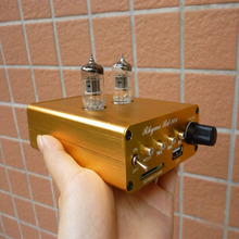 Rhyme HiFi MP3 APE FLAC player portable audio amplifier 6 j1 bile tube amp amplifier tube headphone amplifier