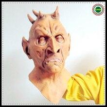 Halloween Cosplay Alien Mask Big Eyes Horrible Terrestrial Party Horror Rubber Latex Full Masks For Costume