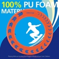 Anillo de Frisbee Boomerang Ufo para Niños y Adultos 100% No Materiales de POLIURETANO Platillo Volador Platillo Volador 100G Peso Neto Frisbees