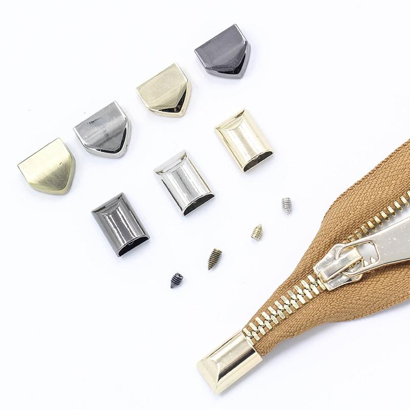 5 шт., металлические винты вилки на молнии для рукоделия, зажимы для фиксации сумки, фиксаторы для фиксации хвоста, ремонтные инструменты для портновера, аксессуары для одежды и шитья|Молнии| | АлиЭкспресс