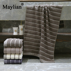 Bath towels Bathroom 100% Cotton 70 * 140 Men Women Thicken Soft Machine wash Large Absorbent Do not fade adult T1