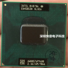 Intel Core 2 Duo P9600 cpu ноутбук процессор PGA 478 cpu работает исправно