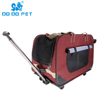 pets acessorios luxury dog carrier dog stroller draw bar box cats products for pets puppy safe top selling product in 2018