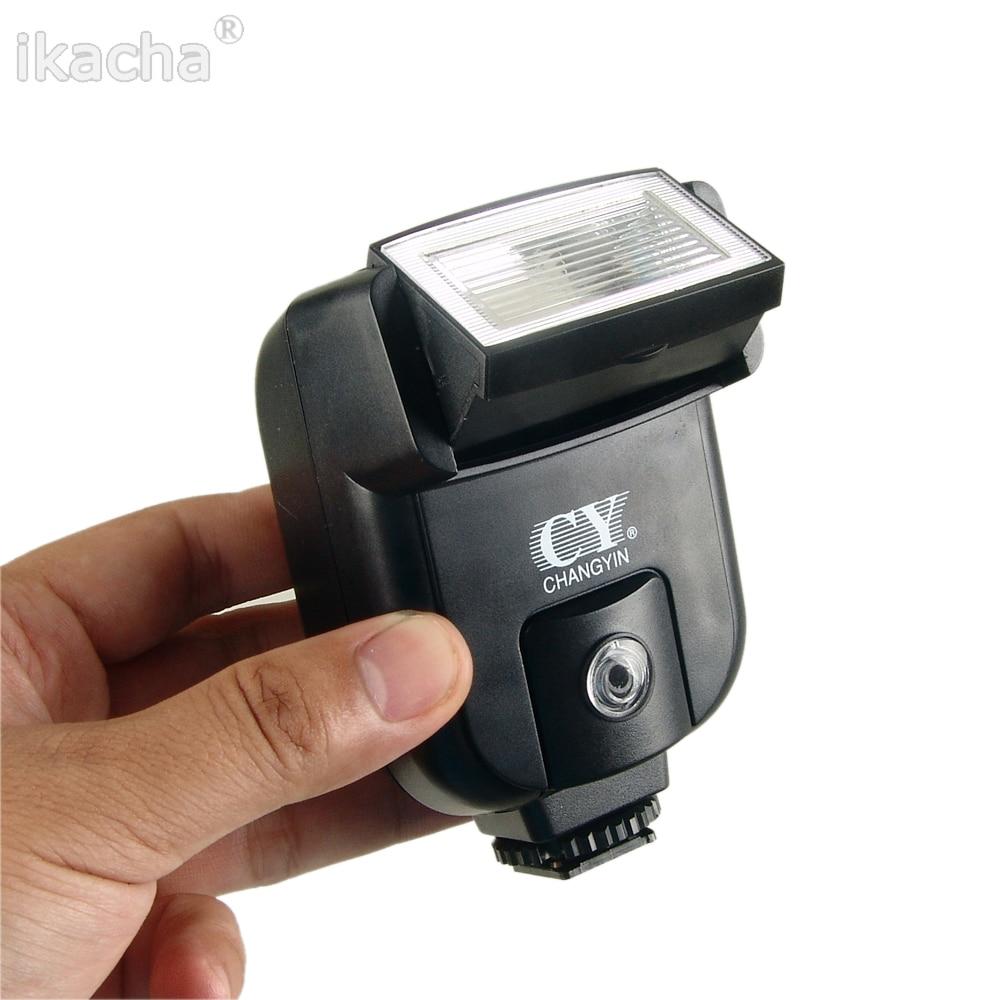 CY-20 Mini Flash Hot Shoe Sync Port Universal Speedlite for Nikon Canon Panasonic Olympus Pentax Sony Alpha Cameras цена и фото