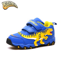 Dinoskulls 2019 Kid Shoes Baby Boys Dinosaur Sneakers Toddler Cartoon Casual Shoes Boys Loafers Children's Sneakers 27-34