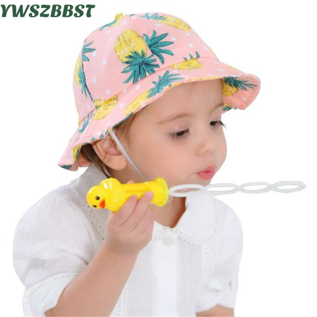 Sun Baby Hat 2017 New Fashion Baby Sun Hat Summer Beach Hat Fisherman Caps  Infant Boy Girl Sun Cap for 5 Months -2 years old bcdb80cdb5c