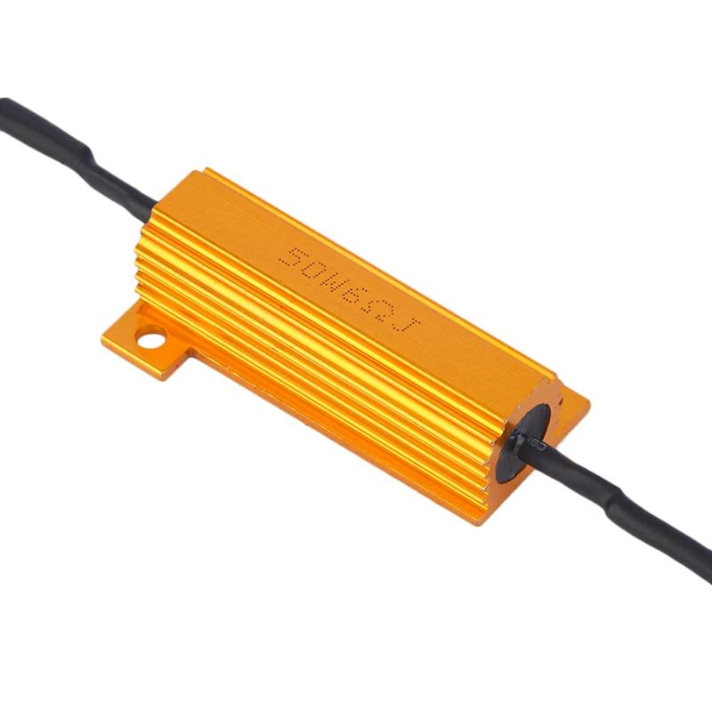 4gab. 50W, 6Ohm, slodzes rezistora LED miglas pagrieziena signāla - Auto lukturi - Foto 6