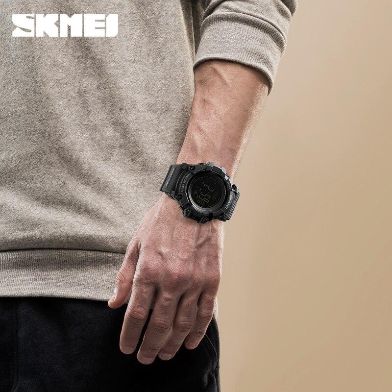 SKMEI открытый спортивные часы мужские Шагомер Калорий Цифровые часы альтиметр погода барометр, термометр, компас наручные часы